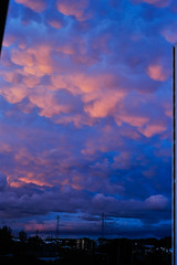 the clouds during sunset yesterday were like a painting (Gail at Large + Image Legacy) Tags: sunset portugal clouds 2016 gailatlargecom mammataclouds