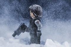 winter soldier (craybot116) Tags: lego legomarvel legocaptainamerica legoinsnow legowintersoldier