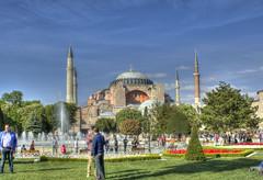 _MG_5637_8_9_Painterly (rvogt0505) Tags: turkey istanbul hagiasofia