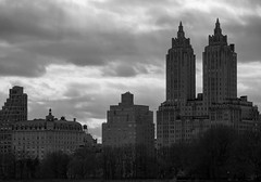 Overcast (ZoK) Tags: newyorkcity urban bw buildings cityscape cloudy eldorado centralparkwest sturban