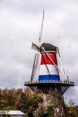 DSC_7720 (Patrick Herzberg) Tags: holland leiden nikon thenetherlands molen vlag roodwitblauw nederlandsevlag molendevalk d5200