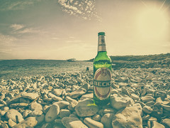 Money For Nothing (lichtbildung - off_for_a_while =)))) Tags: sea sun beer meer croatia bier sonne adria adriaticsea istria kroatien becks istrien kapkamenjak goprohero4silver