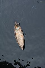 Boat on pitch black water of Buriganga river (Manzur Ahmed) Tags: river march boat nikon human dhaka bangladesh sadarghat d7100 flickrunitedaward buribanga