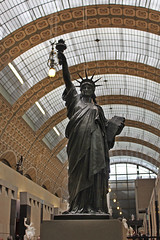 Madame Liberty (skipmoore) Tags: paris statue bronze liberty museedorsay