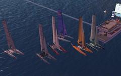 Nacra @NYC - Before race 1 (vivipezz) Tags: nyc sailing sl nantucket secondlife nacra17