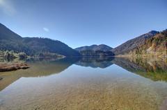 Weitsee in Autumn (wai-photography) Tags: autumn sun lake fall canon bayern bavaria eos see herbst sonne hdr sonnenstrahlen sunray weitsee photomatix 60d eos60d