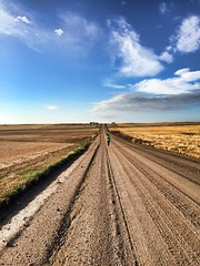 Long Way To Go .. (carolynthepilot) Tags: travel blue vacation sky usa holiday beautiful weather marilyn clouds us high colorado paradise photoshoot calendar marathon postcard country run poetic adventure bbc co runners roads jogger mts flatlands silkstockings bistline