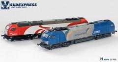 E4000_N_1 (Grupo Avaliare Engenharia) Tags: scale model euro n trains 4000 sudexpress 1160 vossloh