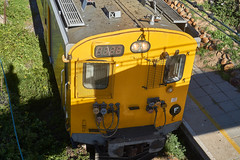 Above the Train (jayayess1190) Tags: city railroad urban southafrica capetown trainstation commuter emu passenger commuterrail metrorail passengerrail sunnycove