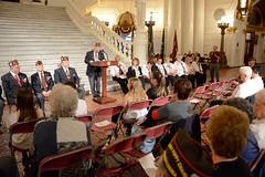 Loyalty Day 08_DSC0884 (padmva) Tags: freedom democracy pennsylvania vet flag pa veteran harrisburg veterans loyalty vfw vets paguard