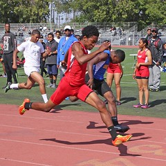 D151346S (RobHelfman) Tags: sports losangeles track highschool trackmeet crenshaw derekcoleman