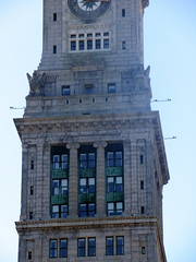 Colonnade, Eagles, and Windows in Tower of Custom House (Autistic Reality) Tags: usa building tower boston architecture america buildings ma hotel us unitedstates massachusetts unitedstatesofamerica towers structures structure hotels custom neoclassical customs greekrevival customhouse customhousetower suffolkcounty commonwealthofmassachusetts cityofboston ammiyoung mckinleysquare customhouses ammiburnhamyoung peabodyandstearns neoclassicalstyle ammibyoung trojungbrannen jungbrannenassociatesinc