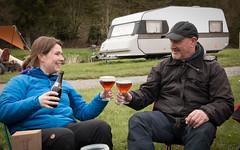 Semois Belgie (Gatersleben) Tags: belgie kamperen tipi semois