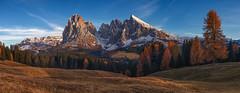 Harmony of mind. (Yuriy Shevchenko) Tags: autumn italy mountains alps beautiful landscape south natura alto alpi tyrol trentino dolomites dolomiti bolzano siusi adigesudtirol