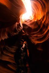 Upper Antelope Canyon Grainy Dec 27 2015-3213 (houstonryan) Tags: arizona art nature print lens landscape photography utah carved nikon sandstone photographer ryan cut nation houston az canyon tokina erosion upper photograph page antelope navajo redrock slot narrow flashflood 1118mm d300s houstonryan hosutonryan pohtograph