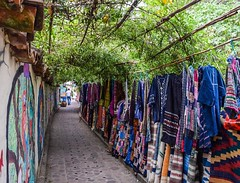 Day 259. Clothes for sale and drains in the ground. #theworldwalk #travel #guatemala