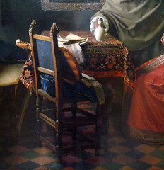 Vermeer, The Glass of Wine