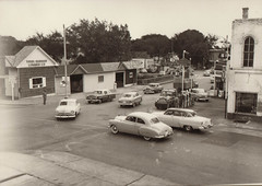 Sinclair Gas Station and York-Barker Lumber Co