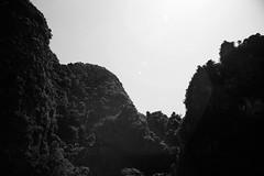 (bendikjohan) Tags: travel bw mountain film nature landscape thailand blw bnw krabi tonsai mountainscape railay bl kodalith railaybeach