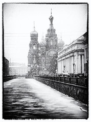 bw582 (Nadia Isakova) Tags: city trip travel winter vacation portrait people blackandwhite bw snow cold building heritage history tourism church monochrome weather vertical museum architecture buildings stpetersburg mono town blackwhite holidays nadia europe european cathedral symbol russia many traditional famous sightseeing january cities culture churches cathedrals landmarks landmark destination leisure snowing sight saintpetersburg tradition museums russian eastern orthodox towns iconic embankment easterneurope leningrad attraction traveldestinations churchofthesavioronblood cathedraloftheresurrectionofchrist churchonspiltblood khramspasanakrovi griboedovcanal thechurchofoursaviouronthespilledblood nadiaisakova