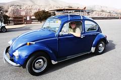 oregon bug with surf board (EllenJo) Tags: blue vw vintage bug volkswagen beetle january az surfboard canonrebel 1970 visitor digitalimage traveler roofrack verdevalley 2016 rver clarkdalearizona ellenjo ellenjoroberts winterinarizona atthedepot hr1250 oregonvolkswagen
