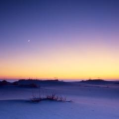 Dusk over the Dunes (josesuro) Tags: longexposure sunset film beach landscapes florida films fineart velvia 4x5 bluehour 2009 largeformat ftwaltonbeach floridapanhandle rodenstock150mmf56aposironars ebonysv45ti jaspcphotography