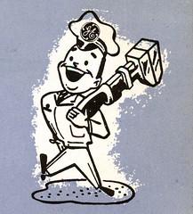 1954 GE (File Photo Digital Archive) Tags: vintage advertising 1954 1950s 50s ge