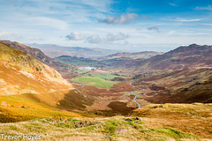 Wrynose looking down into Little Langdale (trevorhayes502) Tags: mountains lakes lakedistrict cumbria romanfort wrynosepass littlelangdale canoneos70d efs1018mm