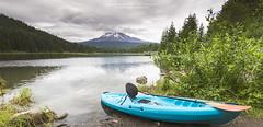 Call of the outdoors! (hazarika) Tags: oregon boat kayak outdoor mounthood trilliumlake mausamhazarikaphotography
