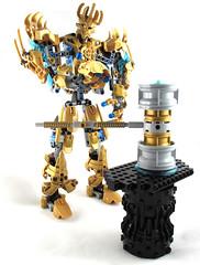 Ekimu and the Forge (Shadow Kraata) Tags: bionicle