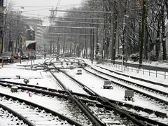 tram lines Bielefeld Germany 26th January 2014 snow  26-01-2014 13-50-24 (dennoir) Tags: snow lines germany january tram bielefeld 26th 2014 1352007 26012014