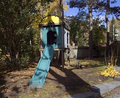Slide (geowelch) Tags: toronto parkdale urbanlandscape urbanfragments olympusmzuikodigital1442mm olympusepl5