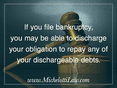 Frequently people are reluctant to file #bankcruptcy because they feel it would have an adverse effect on their credit. The question of what bankruptcy does to a person's credit is a complicated one, but for most people the good news is that it can actual (Michelotti and Associates, Ltd) Tags: chicago illinois divorce kanecounty lawyers attorney cookcounty lakecounty bankruptcy dupagecounty estateplanning willcounty bankcruptcy assetprotection irsproblems chicagoattorney foreclosuredefense chicagolawfirm estateplanningchicago josephmichelotti michelottilawfirm