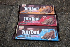 Arnott's Tim Tam By Adriano Zumbo! (Like_the_Grand_Canyon) Tags: new travel red summer vacation cookies coconut cream velvet caramel zealand nz kiwi neuseeland timtam timtams salted neuseelndisch