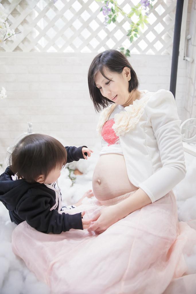 孕婦寫真,孕婦攝影,蘿絲可可,孕婦棚拍,Doris007