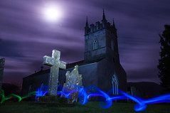 Lorton Church (NorthernLittlePenguin) Tags: church spooky ghostly lorton lightpanting