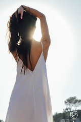 "Kaloopy _ Soaking up the Sun 23 (Kaloopy (-"") Tags: sunlight sexy dress topless batman cave seethrough shoulder bohemian kaloopy"