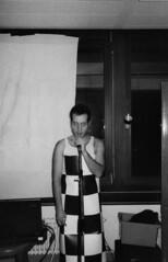 (Adrian Woodhouse) Tags: bw karl sw matching checker ffm schwarzweis kariert knertz lestrucs mutandini mutandinikarl knertzbau knertzshows