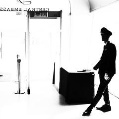 Security style (tmclarke71) Tags: blackandwhite streetphotography bangkokstreet blacknwhitestreet streetphotg