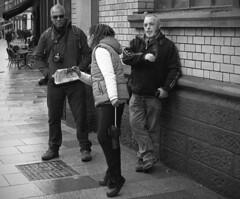 The boys Leica M4-P (Nikonsnapper) Tags: street leica 50mm candid cardiff hc110 summicron unposed tmax400 m4p image9100 100xthe2016edition 100x2016