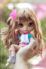 :3! (-Sebastian Vargas --) Tags: chile japan hair this is doll factory tan blythe takara morena hasbro mueca gyaru cosmicolor
