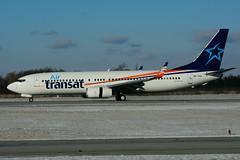 OK-TVU (Air Transat) (Steelhead 2010) Tags: boeing b737 airtransat b737800 yhm smartwings travelservice okreg oktvu