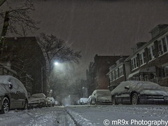 Storm Jonas 3 (MR9X Photography) Tags: street nyc newyorkcity morning winter snow ny newyork storm weather brooklyn canon dawn streetphotography bklyn jonas blizzard manfrotto bensonhurst bkny manfrottotripod g1x canong1x mr9xphotography minipixi winterstormjonas