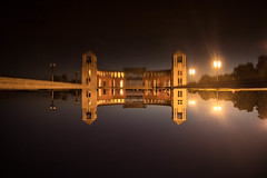 (wolfartf) Tags: park parque light brazil lake reflection luz sol water paran gua night lago day saturday sunny curitiba noite reflexo sbado tangu