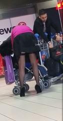 a (Stockings Hunter Love ff) Tags: street stockings legs candid voyeur upskirt bas nylon