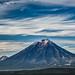 Volcano Koryaksky, Kamchatka