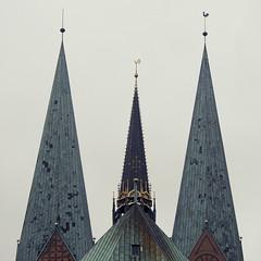 (derkleinebiber) Tags: church kirche marienkirche lbeck altstadt holstein hanse hansestadt trave schleswig stmarien