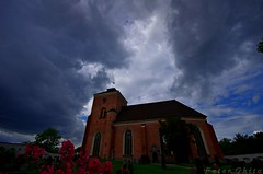 Tyres Kyrka (Peter Ghita) Tags: storm church clouds sigma1020mmf456exdc pentaxk5