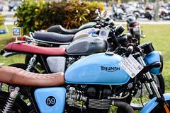 Vintage Motorcycle (DanGarv) Tags: florida motorcycleshow dania vintagemotorcycle mortorcycle classicbike daniabeach antiquemotorcycle d810