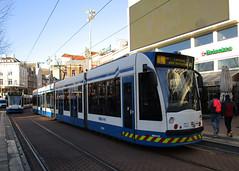 GVBA tram 2204 Amsterdam Rembrandtplein (Arthur-A) Tags: netherlands amsterdam nederland tram streetcar tramway strassenbahn electrico tranvia gvb combino tramvia gvba lestram
